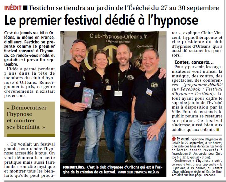 le premier festival dedie a l hypnose